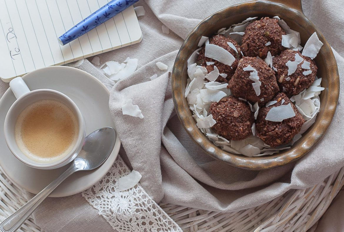 choco-coconut energy-ball recipe