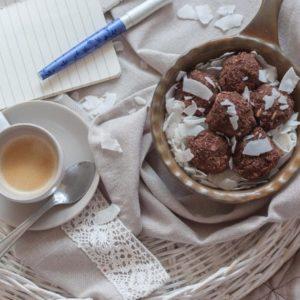 choco-coconut energy-ball recipe